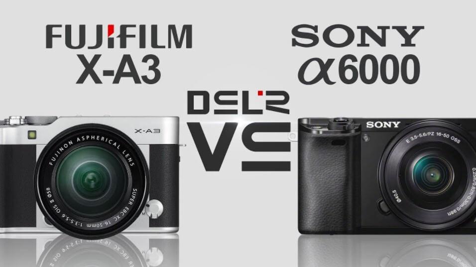 Máy ảnh Fujifilm hay Sony A6000 chụp tốt hơn