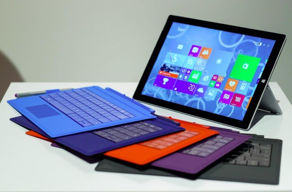 Các dòng máy tính bảng được thiết kế để thay thế các chức năng cơ bản của laptop