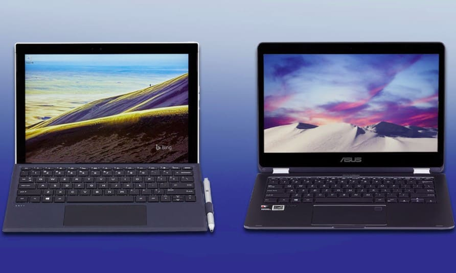 Laptop hay máy tính bảng là sự lựa chọn tốt hơn