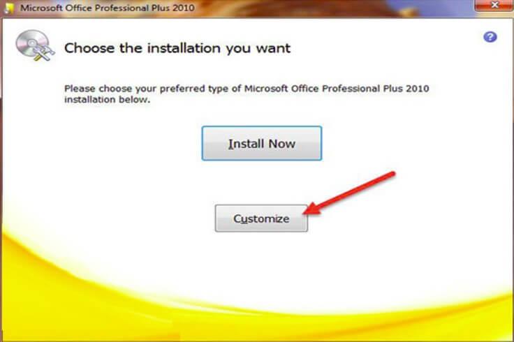 Cách cài đặt Microsoft Office 2010