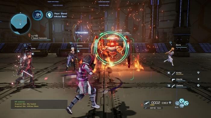 Chơi game Sword Art Online