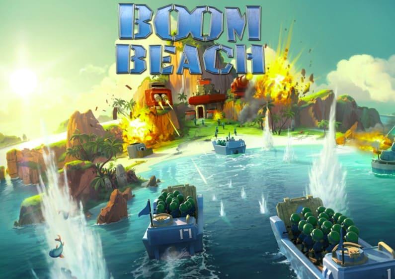 Game chiến thuật Boom Beach