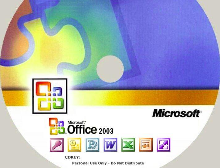 Công cụ office 2003