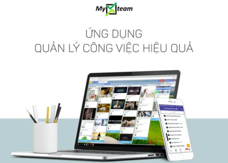 Quản lý công việc bằng MyXTeam