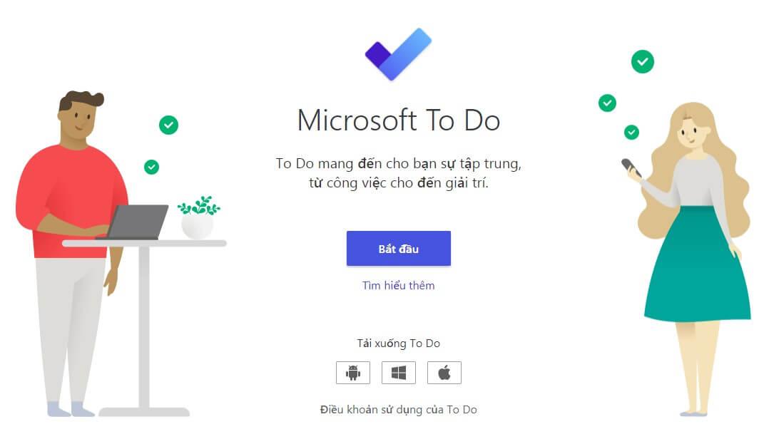 Quản lý công việc hiệu quả với Microsoft To – Do