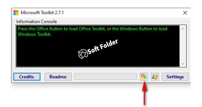 Nhấn vào biểu tượng Microsoft để tiến hành cài đặt ứng dụng