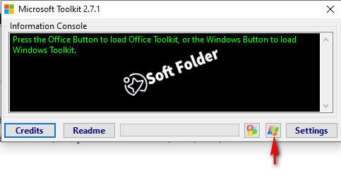 Kích hoạt Microsoft toolkit hoàn thành bước cuối cùng