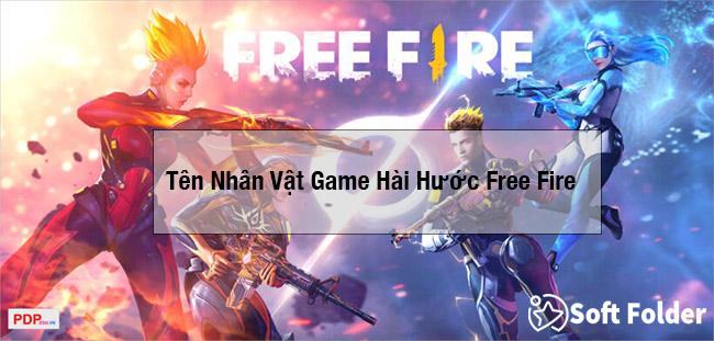Tên Nhân Vật Game Hài Hước Free Fire