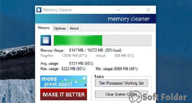 Ứng dụng giải phóng bộ nhớ máy tính