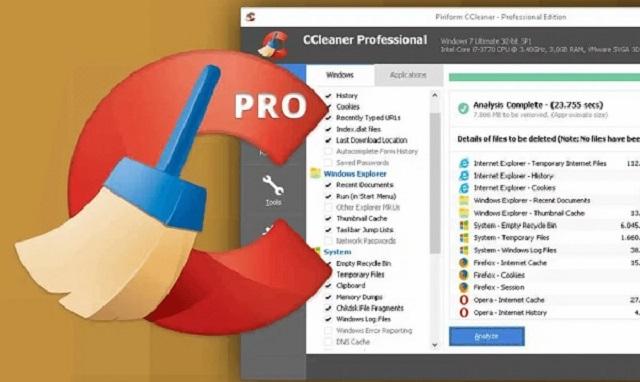 Tải CCleaner mới nhất giúp dọn sạch rác trong máy tính của bạn