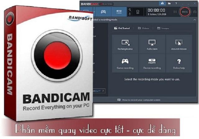 Cách cài đặt phần mềm quay video màn hình Bandicam đơn giản