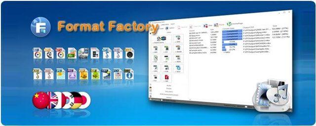 Hướng dẫn tải format factory full
