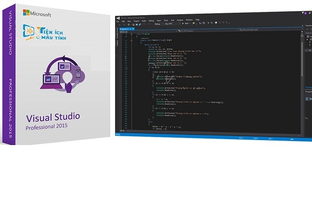 Cách Download visual studio 2015 full + key