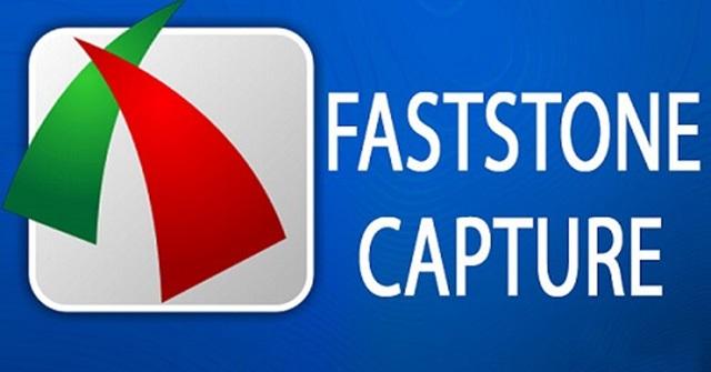 Phần mềm Faststone Capture