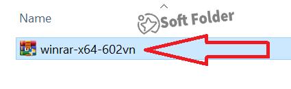 Bước 1: Tiến hành chạy file WinRAR mà các bạn tải về
