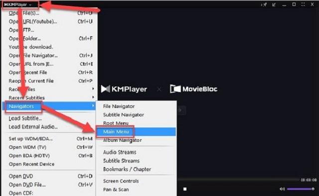 Cài đặt tiếng Việt cho phần mềm KMplayer full crack