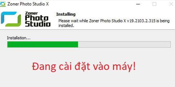 Hướng dẫn cài đặt Zoner Photo Studio X 19