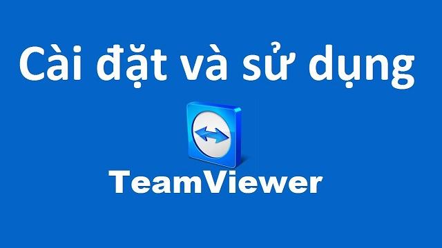 Download Teamviewer miễn phí để có thể làm việc từ xa